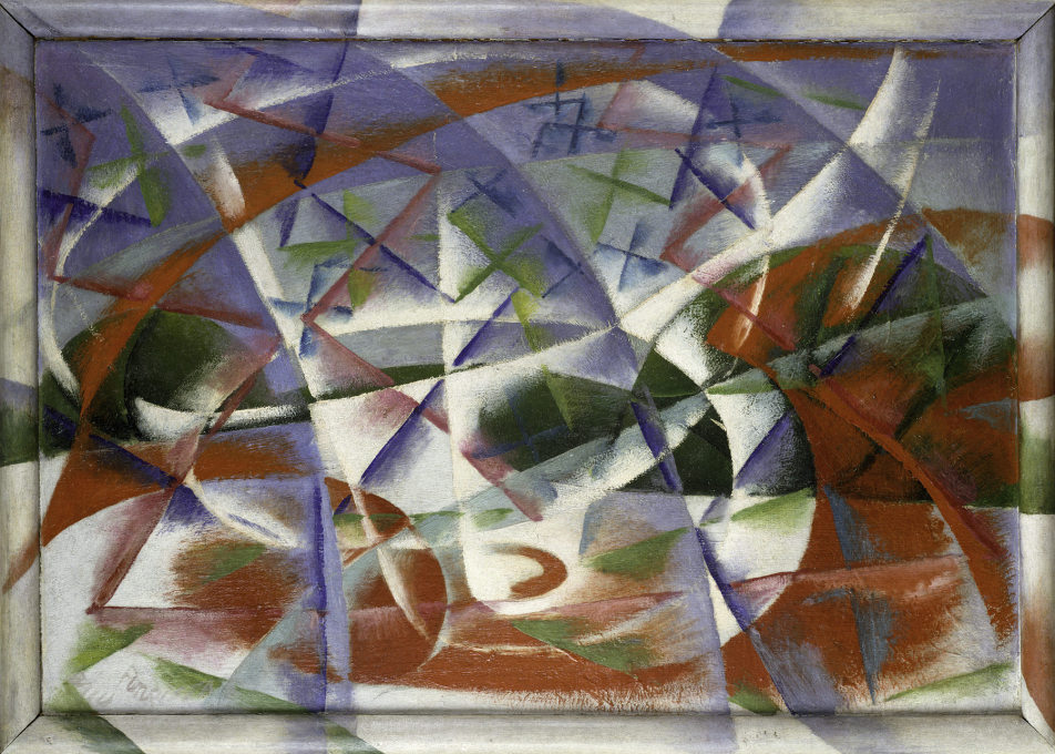 "Giacomo Balla translated speed and sound onto canvas with ""Abstract Speed + Sound″, 1913–14. (Photo: Courtesy Solomon R. Guggenheim Foundation © 2013 ARS)"