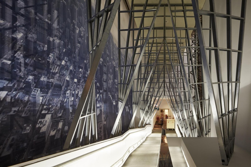 "SO-IL's ""Passage"" installation. (Photo: Tom Harris, courtesy Chicago Architecture Biennial)"