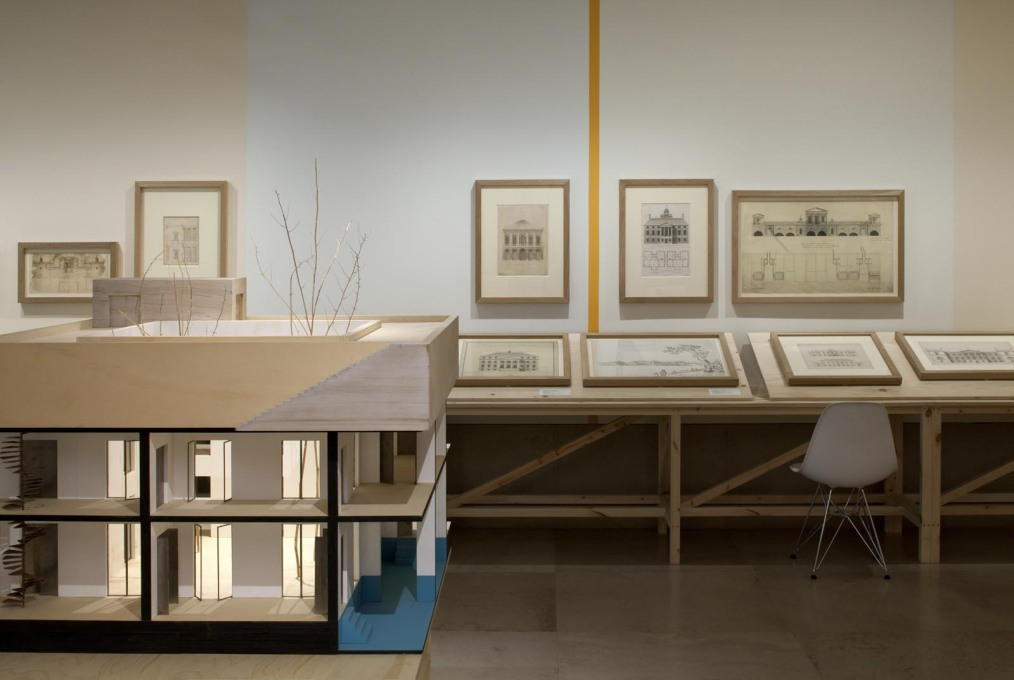 """The exhibition does a good job of tracing the influence of Palladio's I Quattro Libri dell'Architecttura..."""