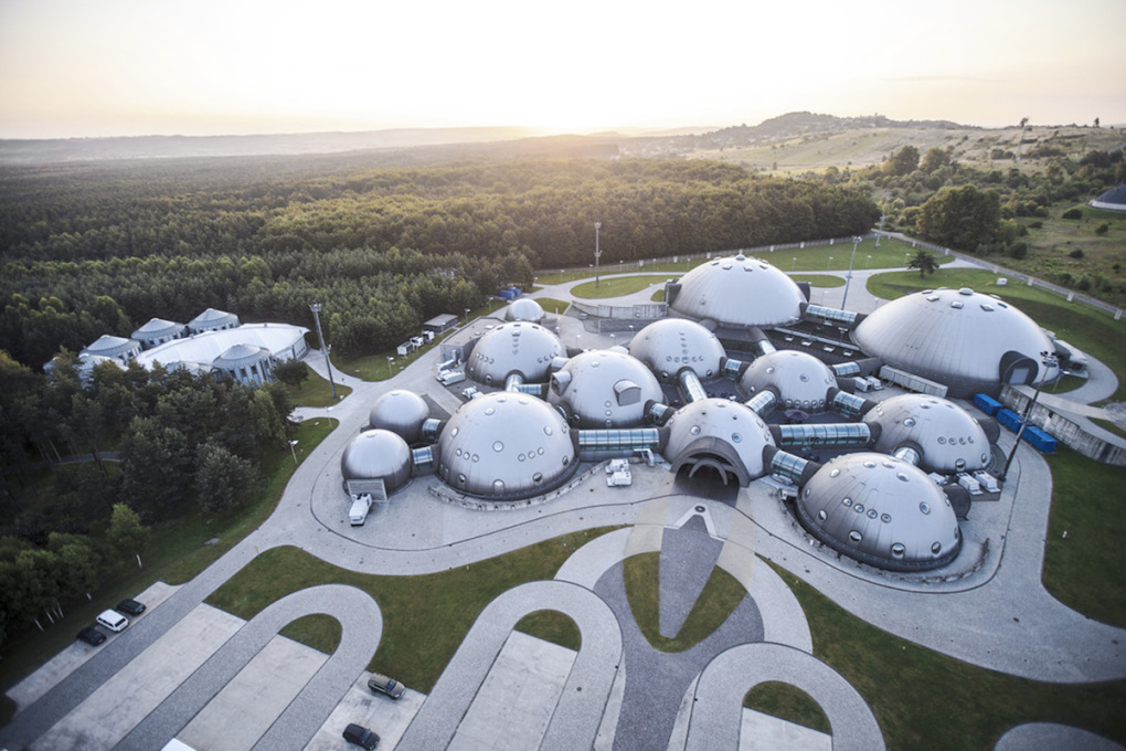 Alvernia Studios is a futuristic playground for the film industry, hidden in the Polish countryside. (Photo courtesy Alvernia Studios)