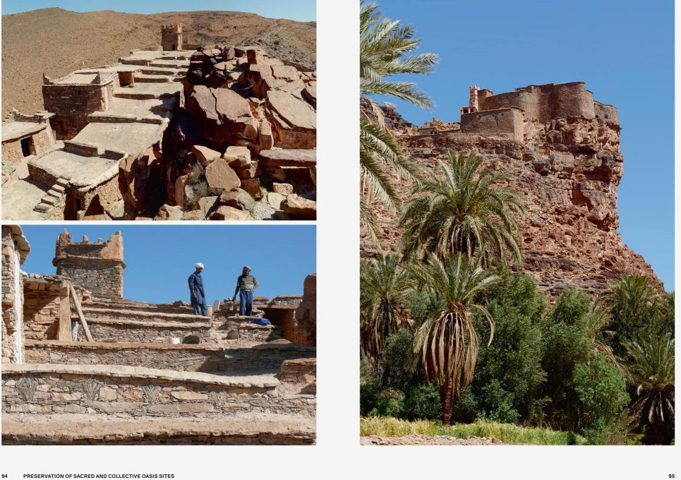 It features the 20 projects that were shortlisted for the prize, ranging from low-tech projects like this preservation of a sacred and collective oasis sites in the Guelmim Region of Morocco...