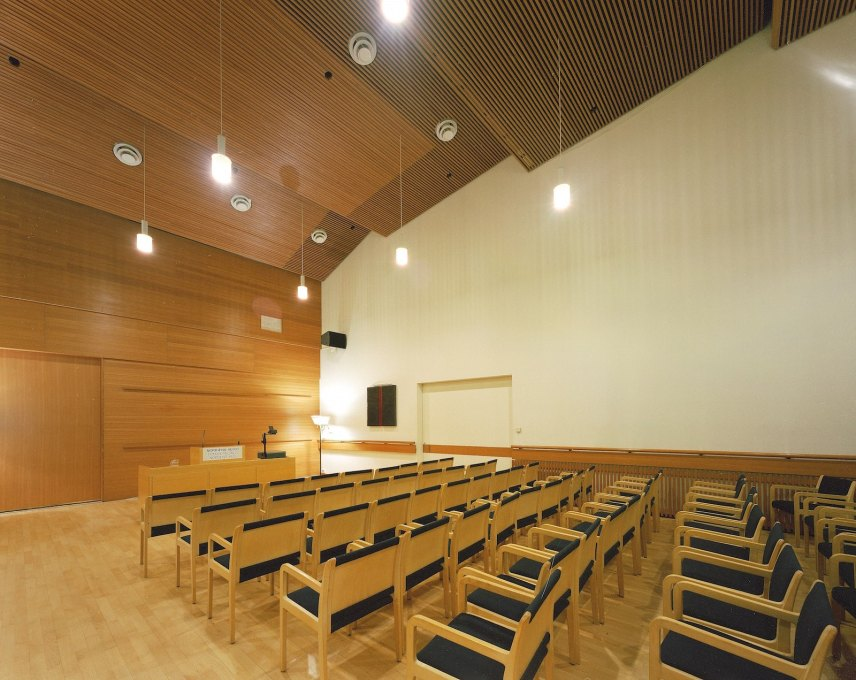 ...for the centre's regular lectures, concerts and screenings. (Photo: Guðmundur Ingólfsson)