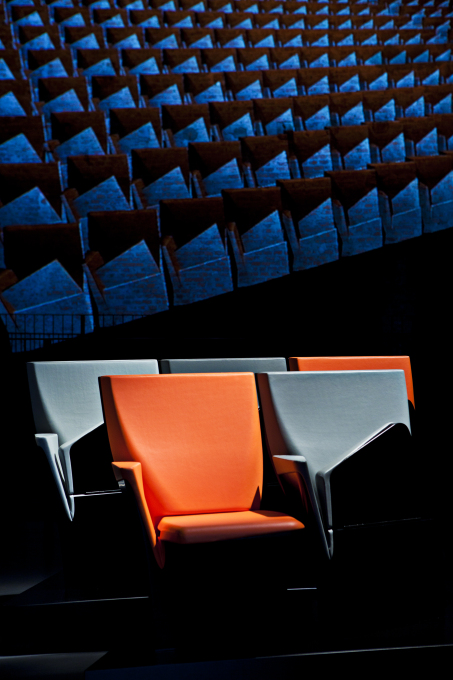 ...as well as this Array seating system for Poltrona Frau – and other products besides. But all the Zaha Hadid designs might as well have been produced by a single manufacturer or merely as self-marketing tools. (Photo: Jacopo Spilimbergo)&a