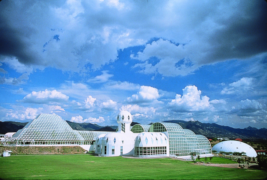 """The Biosphere created our fame and also our demise."" (Courtesy CDO Venture LLP/University of Arizona Biosphere 2)"