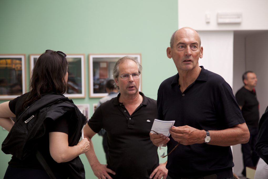 Rem Koolhaas at the 2012 Venice Architecture Biennale (Photo by Torsten Seidel, Berlin)