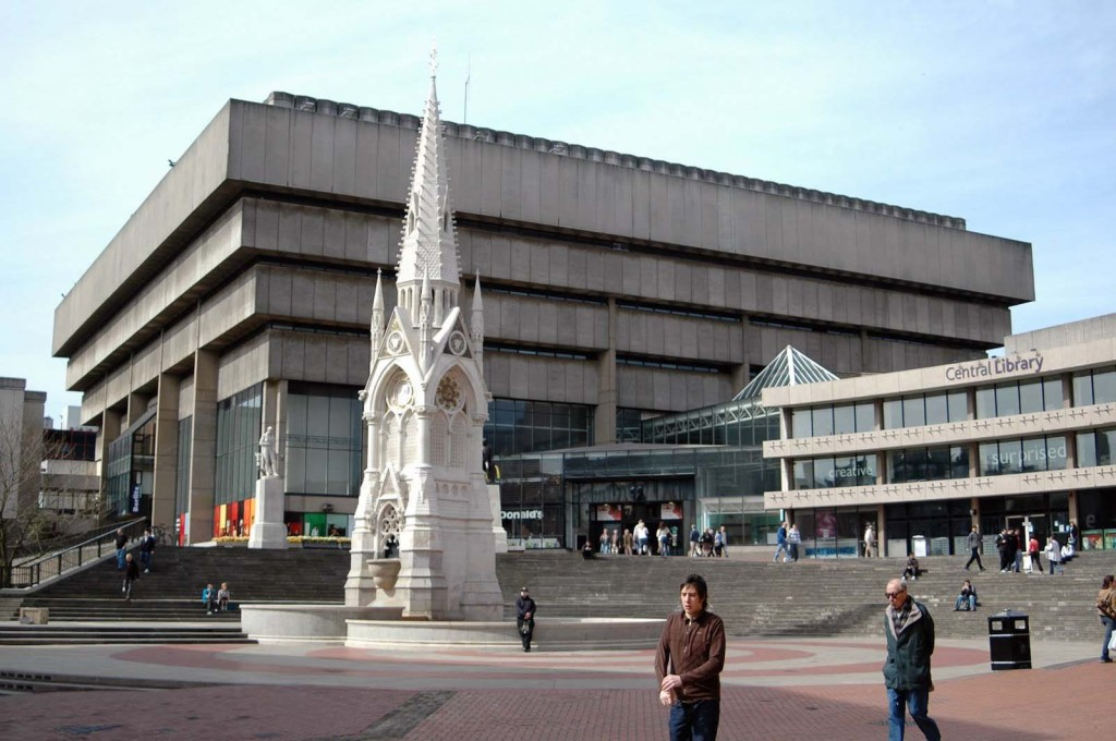 John Madin's Central Library in Birmingham, UK is scheduled for demolition since closure in 2013. Can it be saved? (Photo: Erebus555, 2007 (CC BY-SA 2.0))