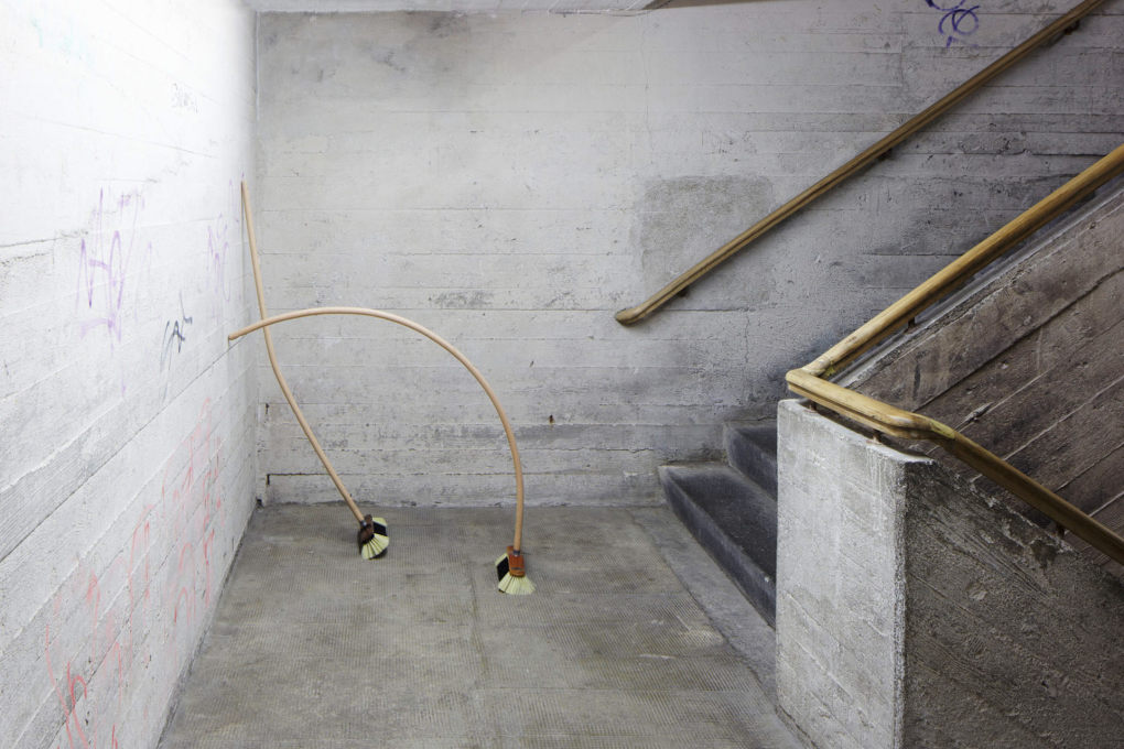 A former bunker in Berlin housing the Boros art collection; installation by Alicja Kwade (Photo: Andreas Gehrke).