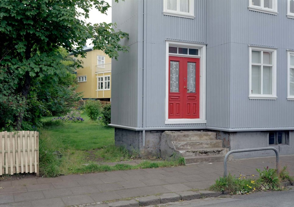 Away from the waterfront, the gaps and spaces often found between houses on streets like Bræðraborgarstígu appear under threat...