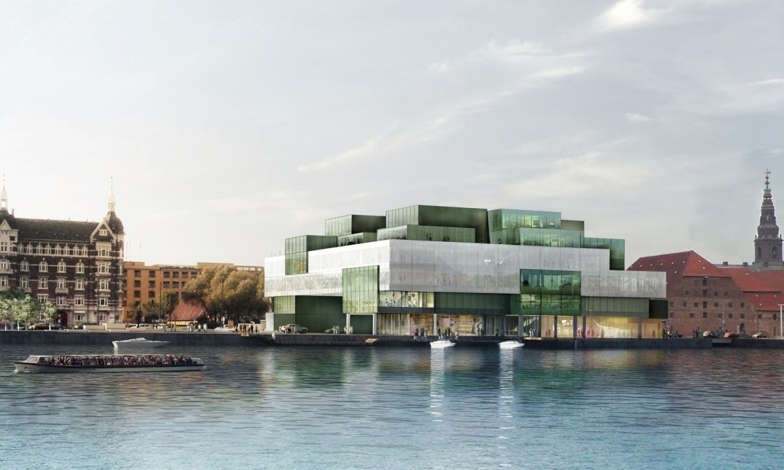 "Institution future?: The Danish Architecture Centre's new home from 2016 will be this OMA-designed building, the Bryghusprojektet, an ""urban motor"" to actively link Copenhagen's city center to its waterfront. (Image: OMA)&a"