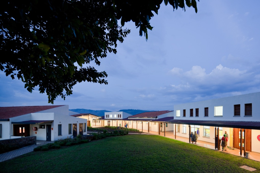 "Zumtobel winners in the ""Built Environment"" category are MASS Design Group, who were awarded for their pioneering Butaro Hospital in Rwanda. (Photo: Iwan Baan)"