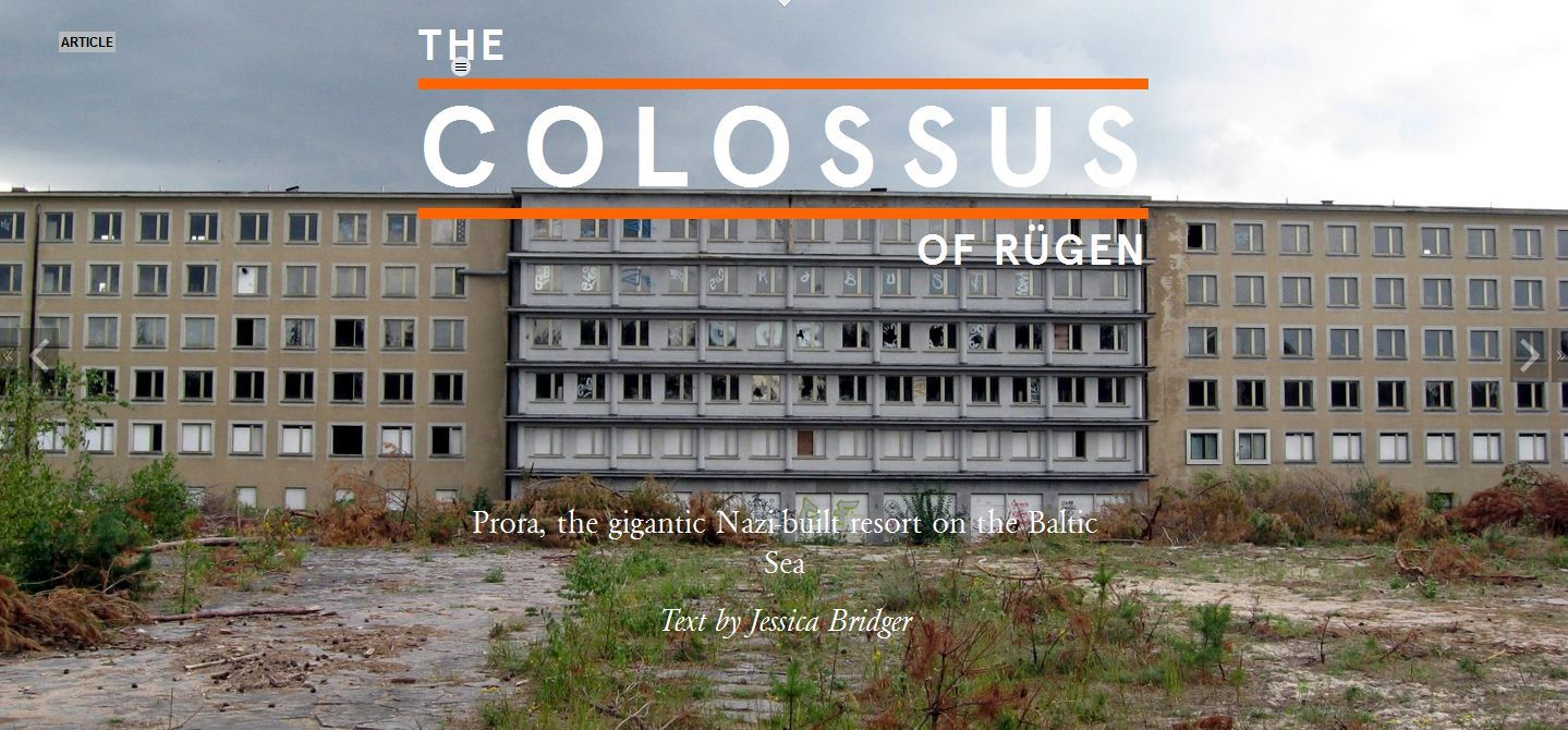 Prora the gigantic nazi built resort on the baltic sea for Nazi holiday resort