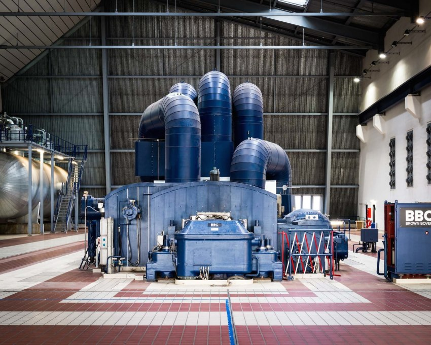Inside the Turbine Hall at Avedøre Unit 1.