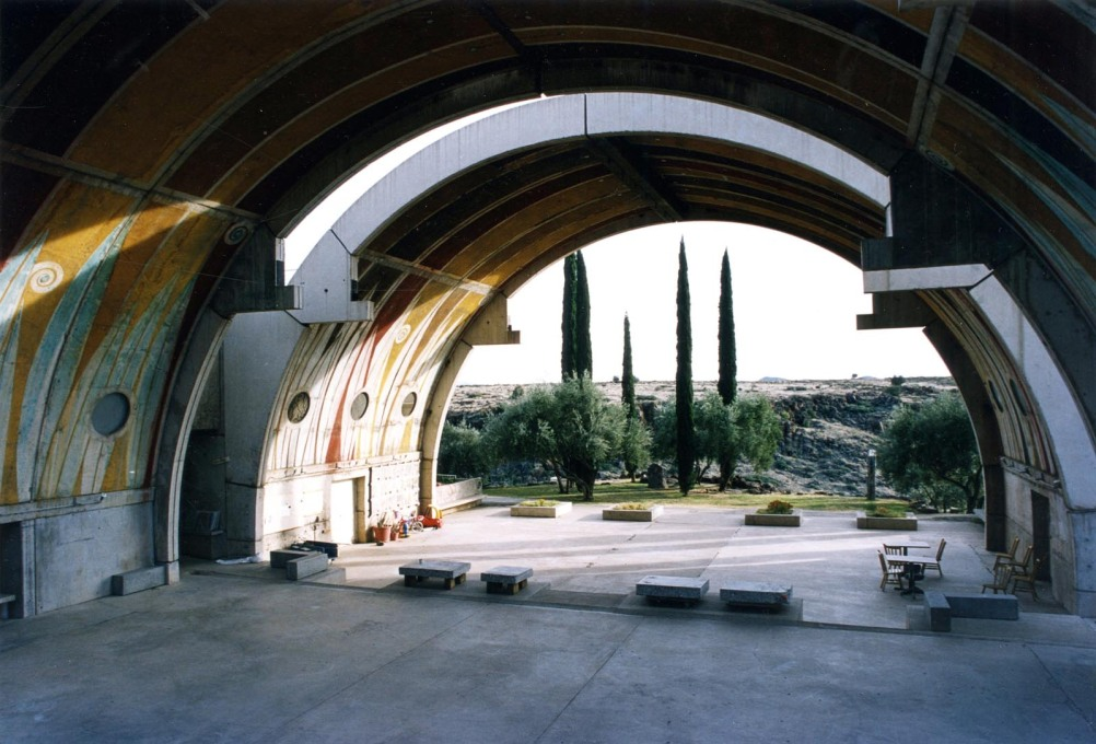 Arcosanti: the main event hall. (Photo: Oliver Elser)