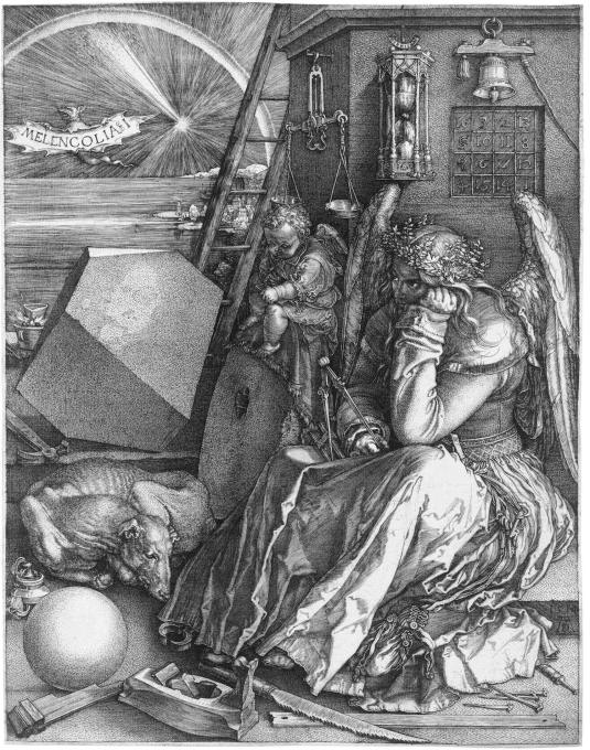 CMT resembles a rhombohedron, a three-dimensional figure with rhombus-shaped faces. The shape's appearance in Albrecht Dürer's 1514 Melencolia I engraving imbued it with heavy life-and-death metaphorical connotations.