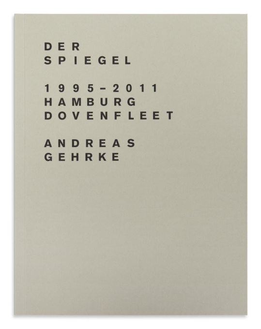 The latest Drittel Books publication (2 of 2 books): Der Spiegel 1995-2011; Hamburg, Dovenfleet; numbered edition of 300 (Photo: Andreas Gehrke / Drittel Books).