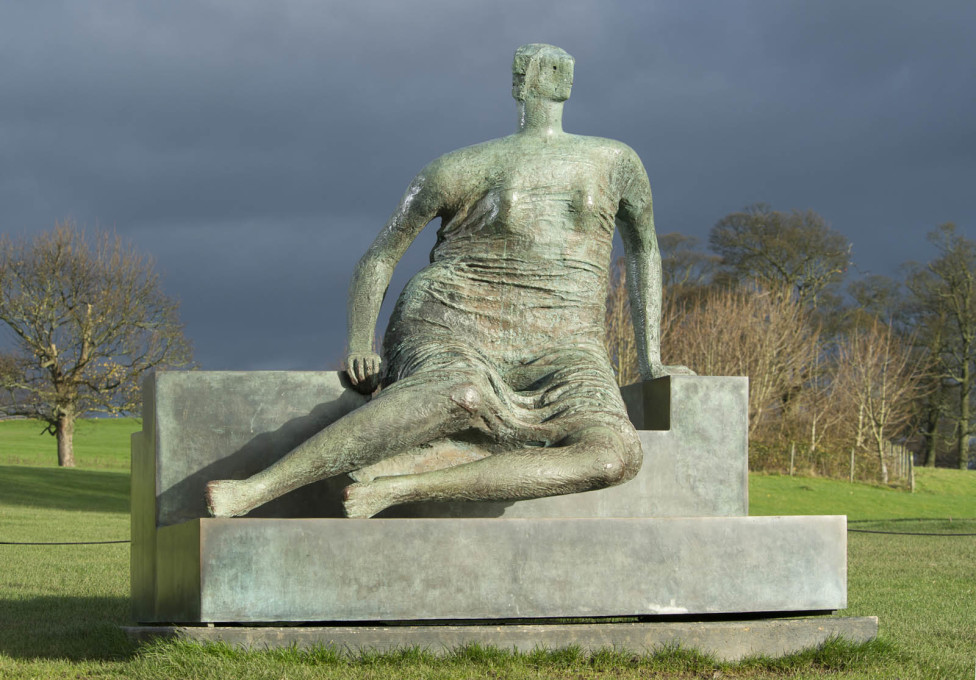 """Old Flo"" was the subject of much discussion and public campaign in 2012 when the then major of Tower Hamlets announced his intention to sell it. The sculpture is currently on long term loan to the Yorkshire Scultpure Park.(© His"