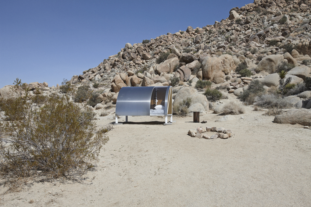 The A-Z Encampment has all the amenities for off-grid living...