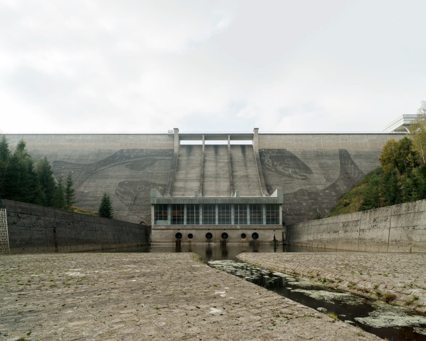 Eibenstock Dam, Germany 2014.