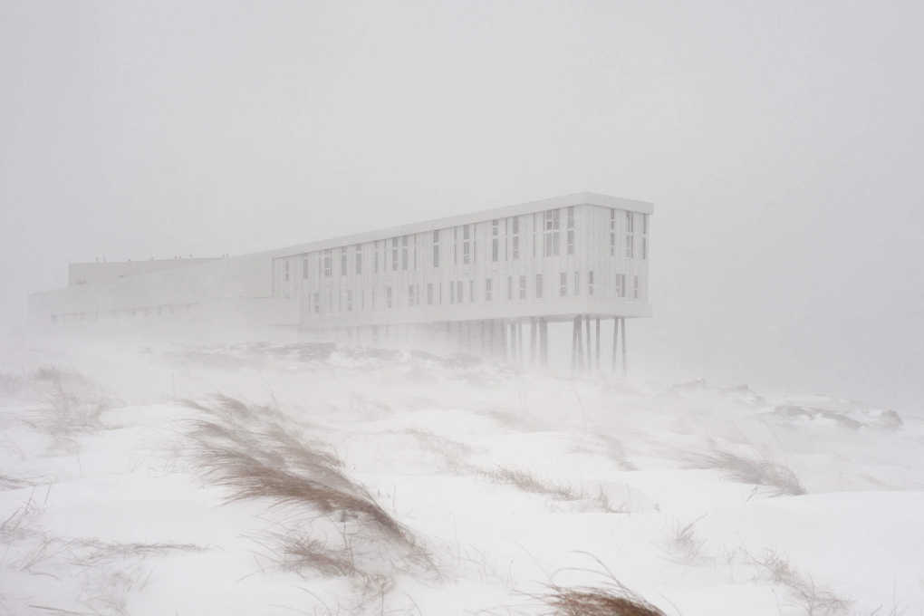 Winter can come: Snow storm on Fogo island. (Photo: Bent René Synnevåg)