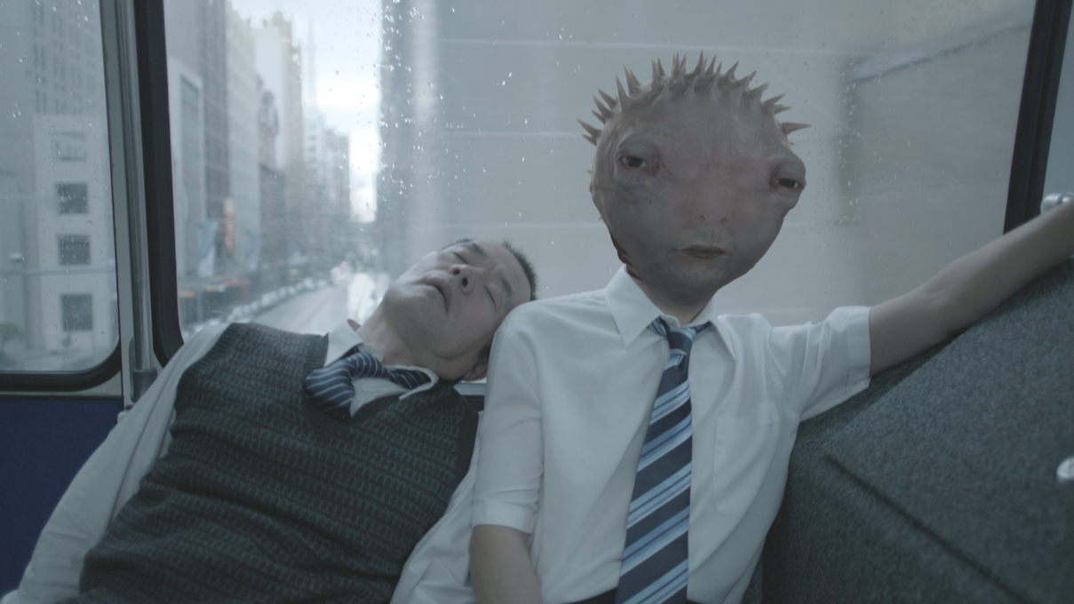 Still from Fugu & Tako (2012), Ben West's critically acclaimed short film.