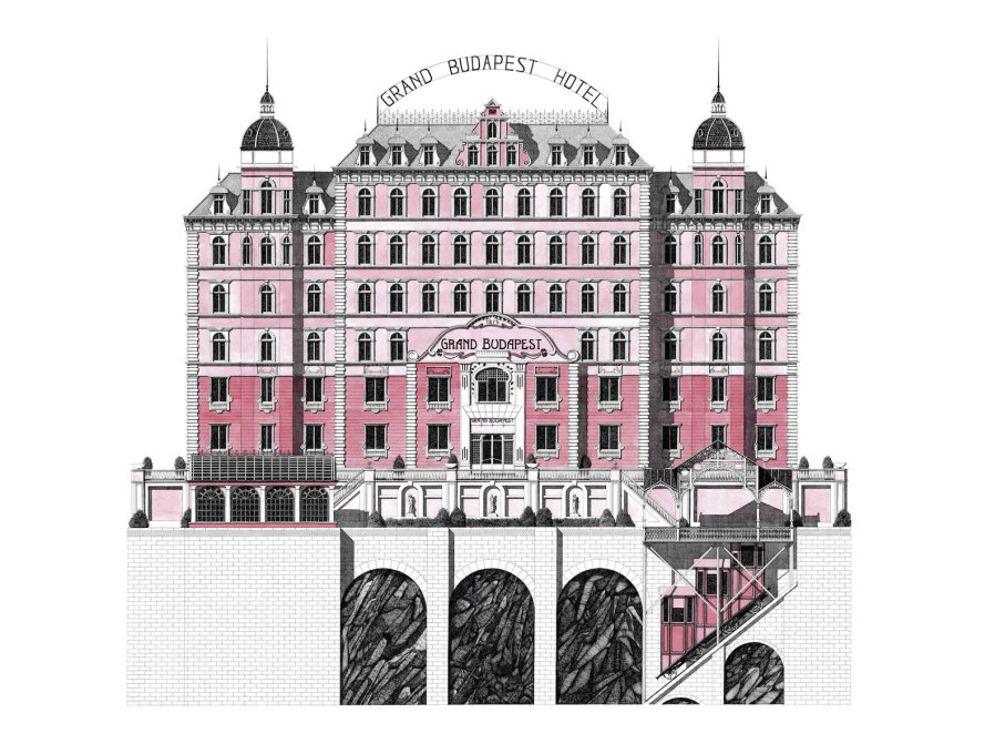 """The Grand Budapest Hotel"", otherwise known in its less fictional guise as the Palace Bristol Hotel in Karlovy Vary, Czech Republic. (All images: Thibaud Herem)"
