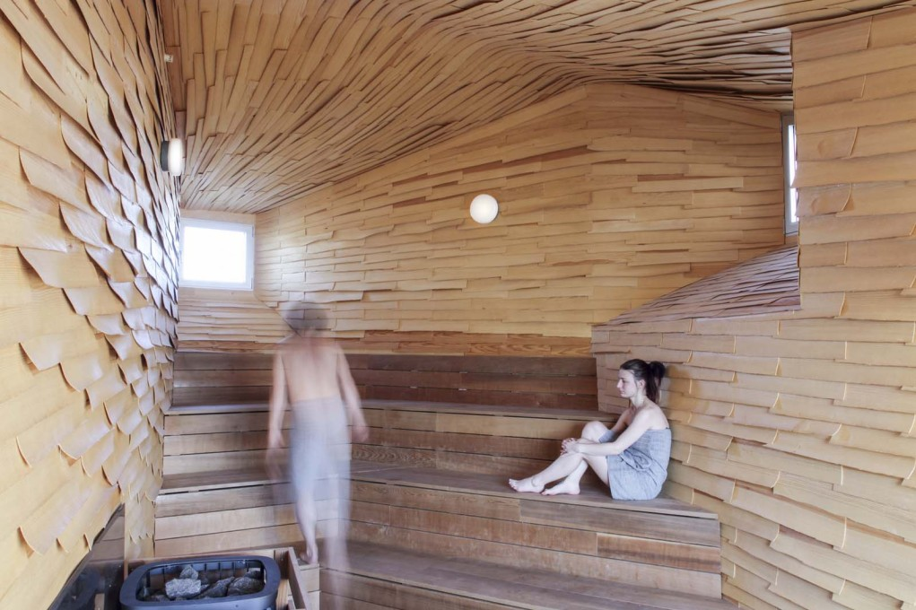 The public sauna in Gothenburg intends to reconnect with the old tradition of public baths serving as as socially mixed meeting points.