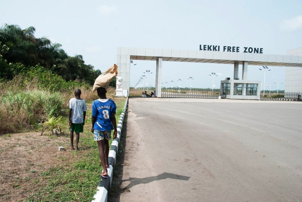 Welcome to Lekki Free Trade Zone, a small piece of China in Nigeria. (Photo: Michiel Hulshof & Daan Roggeveen)