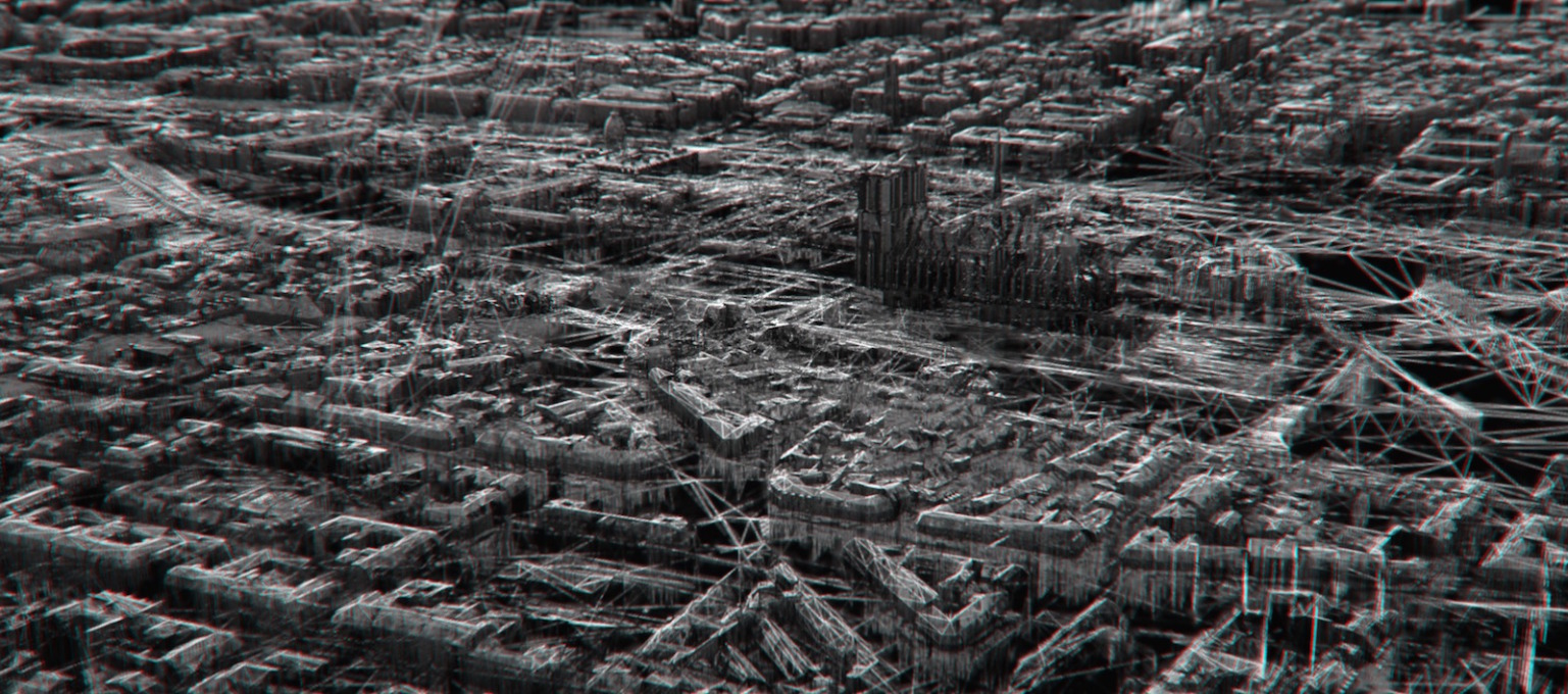 """Ghost Cell"", directed by Antoine Delacharlery, France, 2014, features in the Raw Beauty short film programme and depicts the city of Paris as a micro-organism through CGI animation."