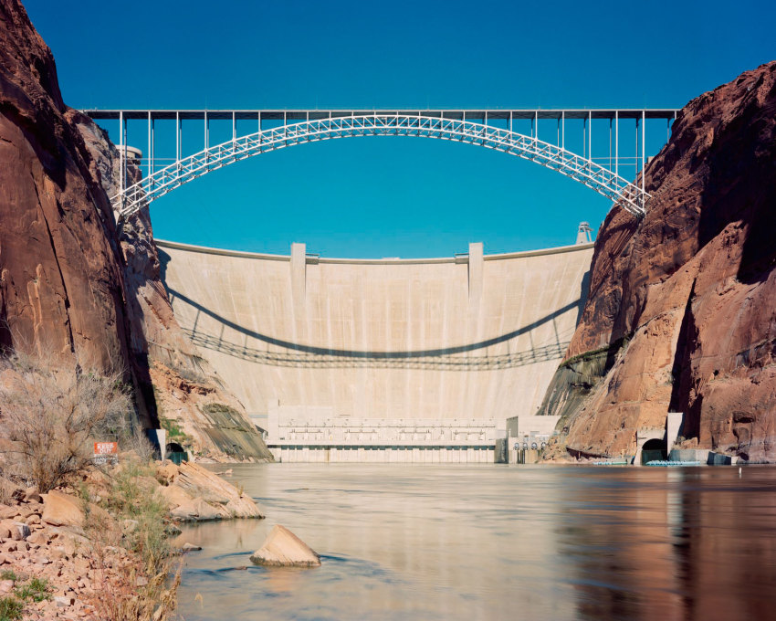 Glen Canyon Dam, Arizona 2014.