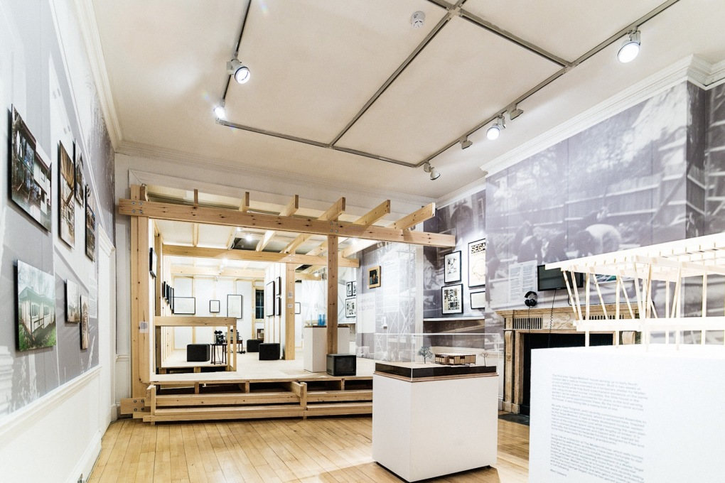 Walter's Way exhibition view at the Architectural Association, London. (Photo: Taran Wilkhu)