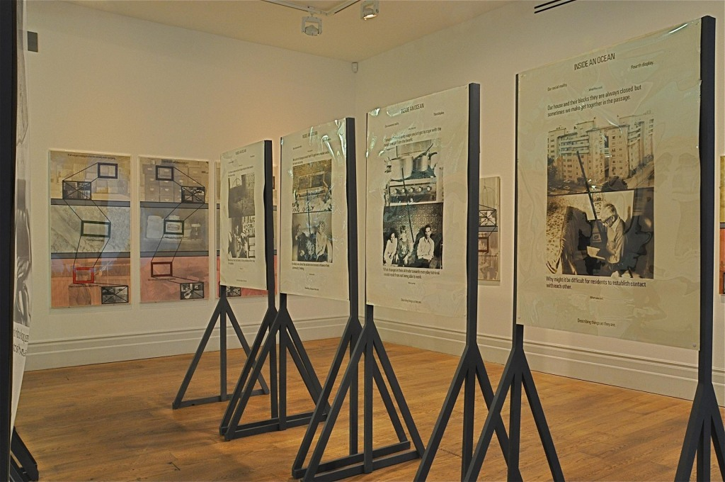 "Installation View of ""?Stephen Willats: Concerning Our Present Way of Living"", March 4 to September 14, 2014, Whitechapel Gallery?. (Photo: Patrick Lears)"
