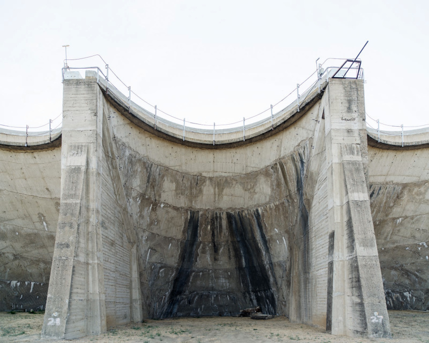 Jameson Dam, Dry Side, California 2014.