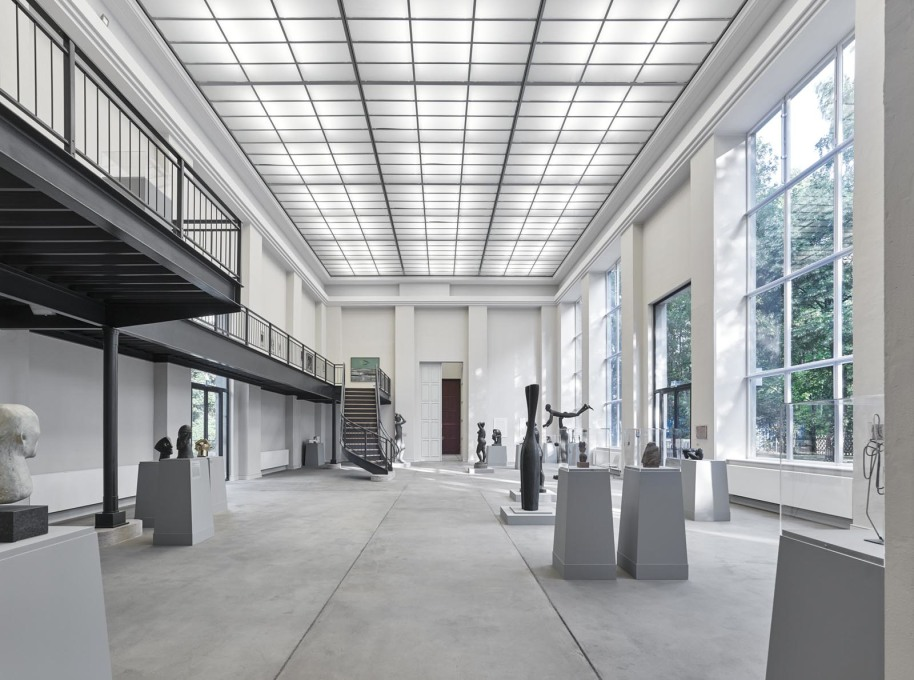 The main gallery of the Kunsthaus Dahlem, Berlin, renovated by Petra and Paul Kahlfeldt Architekten. (All photos: Stefan Müller, unless otherwise stated)