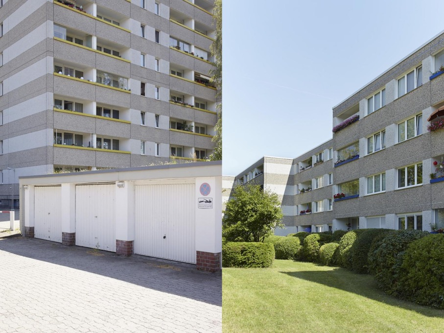 Germany's obsession with insulation cladding has since found its way into the MV apartment blocks.