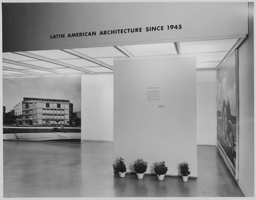 """Latin American Architecture since 1945"", MoMA, New York, 1955."