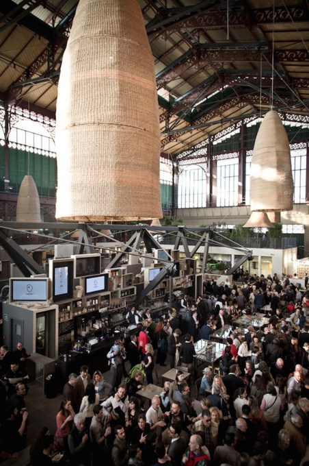 The refurbishment and partial repurposing of this indoor market is intended to help regenerate the San Lorenzo district of Florence. (Photo courtesy Domingo Communication)