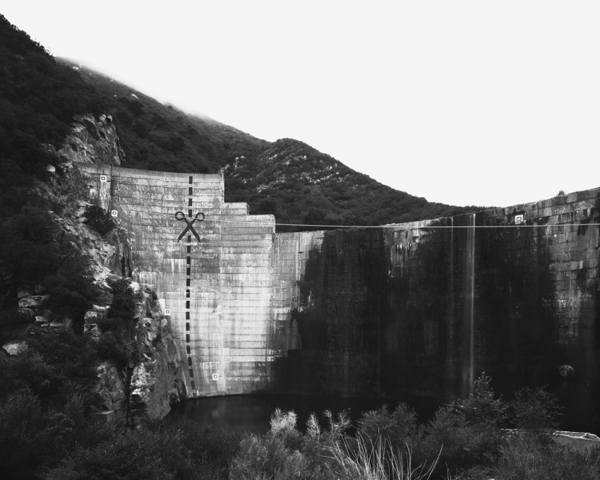 Matilja Dam, California 2014.