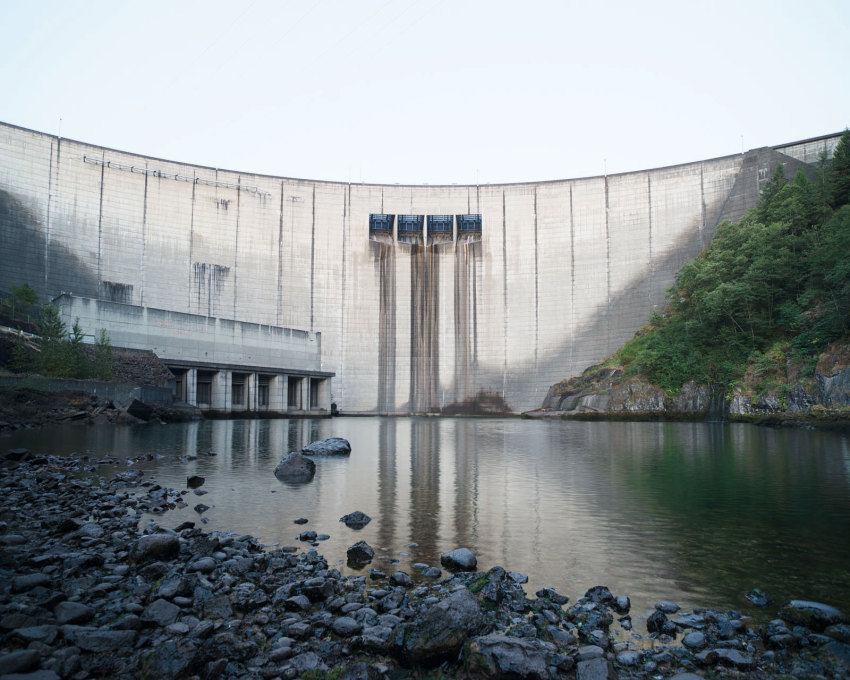 Mossyrock Dam, Washington 2015.