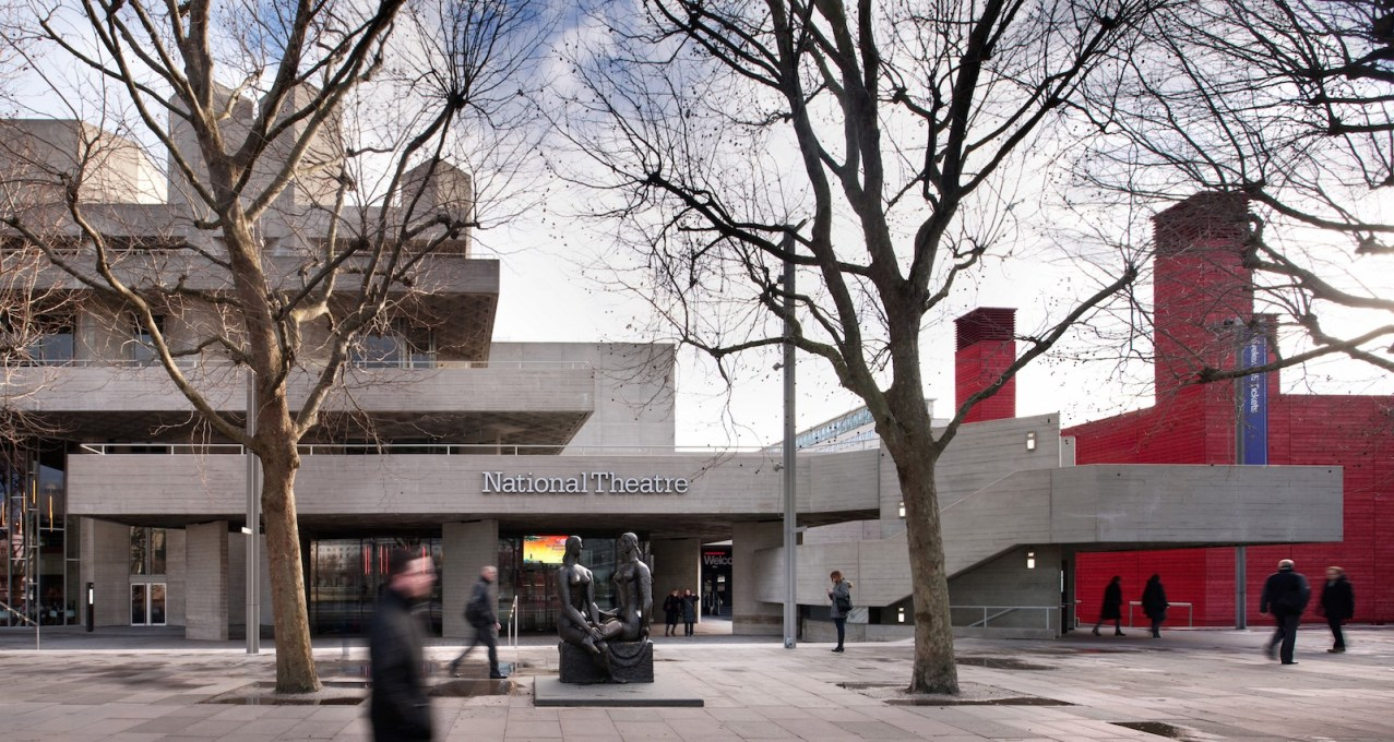 The National Theatre sits upon London's South Bank, a cultural hub visited by 12 million people a year. (Photo: Philip Vile)