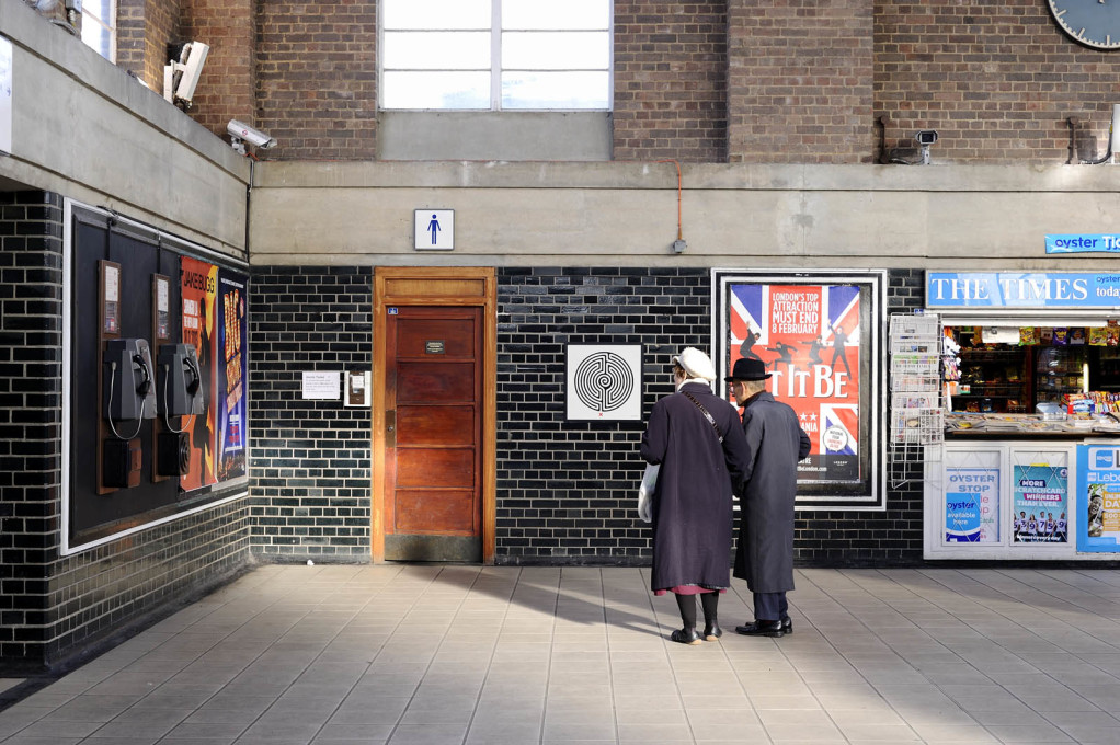 Wallinger created 270 individual artworks – one for each station on the London underground network. (Photo: Thierry Bal)