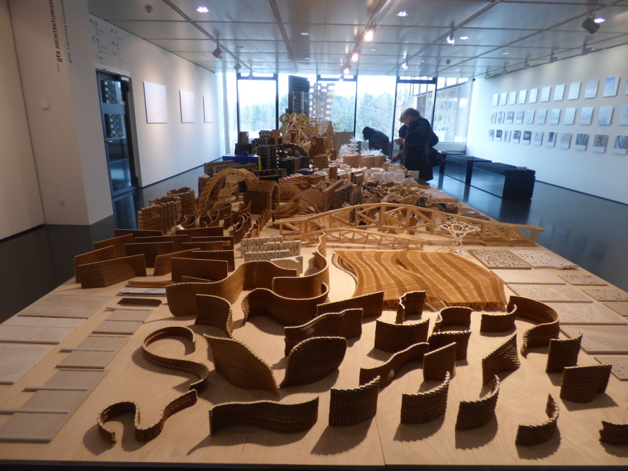 The main exhibition accompanying the conference displayed a wealth of complex fabricated objects...