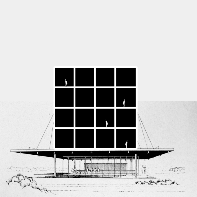 """Superelevation of Paul Rudolph""."