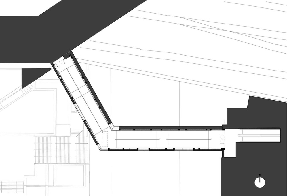 SFC Bridge: plan. (Design: James Khamsi, Jennifer Marman, Daniel Borins)