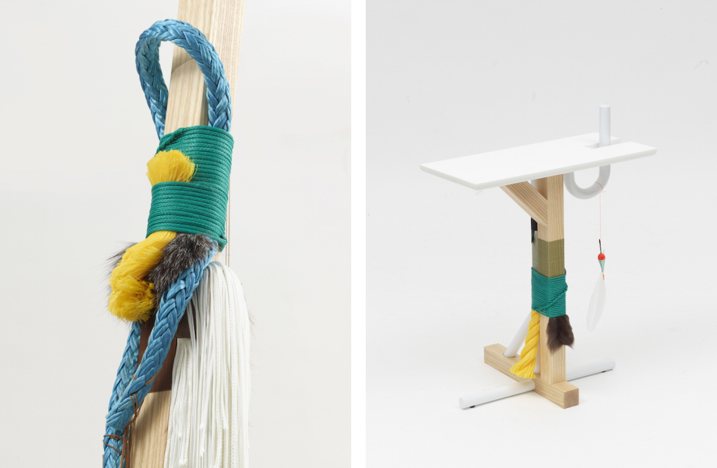 Knotting and roping methods traditionally used by Icelandic fisherman are applied as functional details. (Photos © Fabrice Gousset & Alejandra Duarte)
