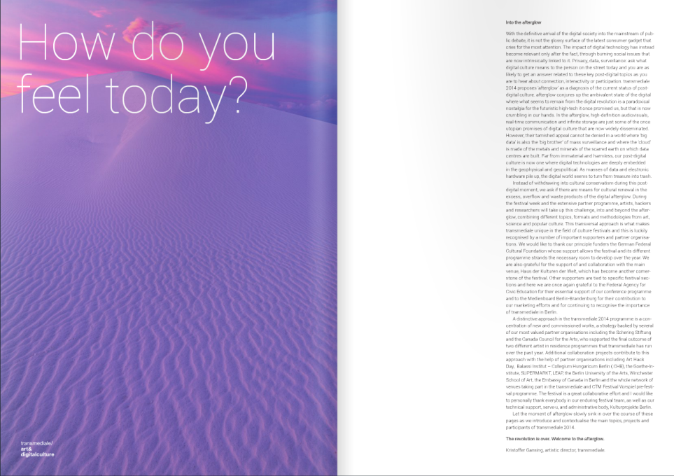 """How do you feel today?"" references the famous 1990s Microsoft slogan ""Where do you want to go today?"""