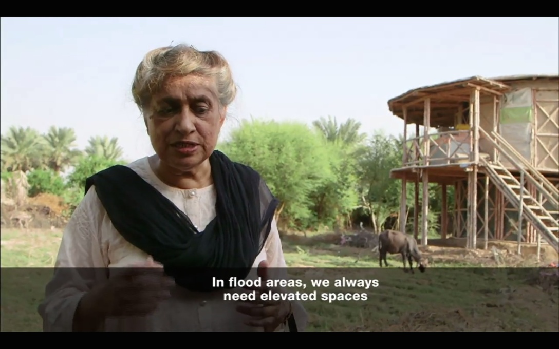 Episode two follows Pakistani architect Yasmeen Lari, who works to transmit architecture knowledge to those living in rural floodlands so they can build safer homes.