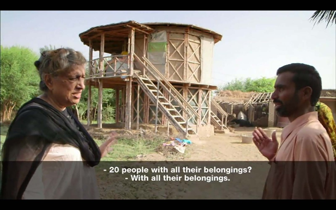 Yet from the beginning she also researched traditional ways of building in Pakistan.