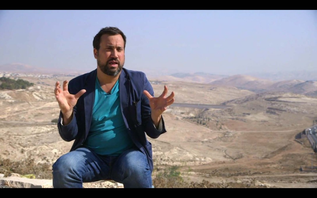 The third episode revolves around Eyal Weizman, an architect working on the Israel/Palestine border.