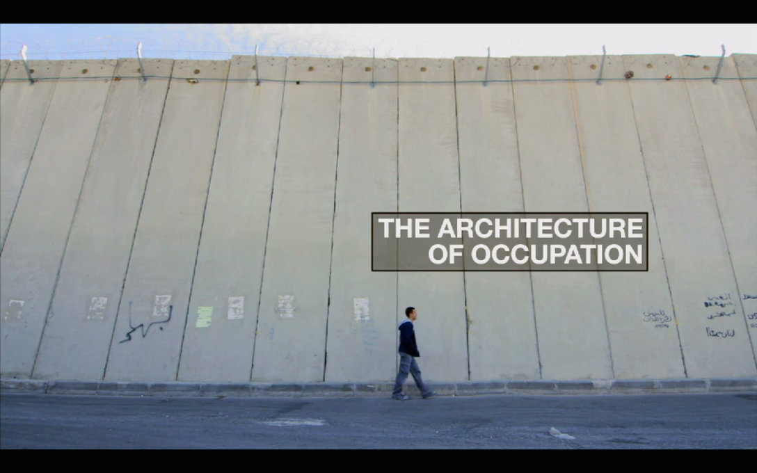 """Architecture and the built environment form a kind of slow violence"", says Weizman."