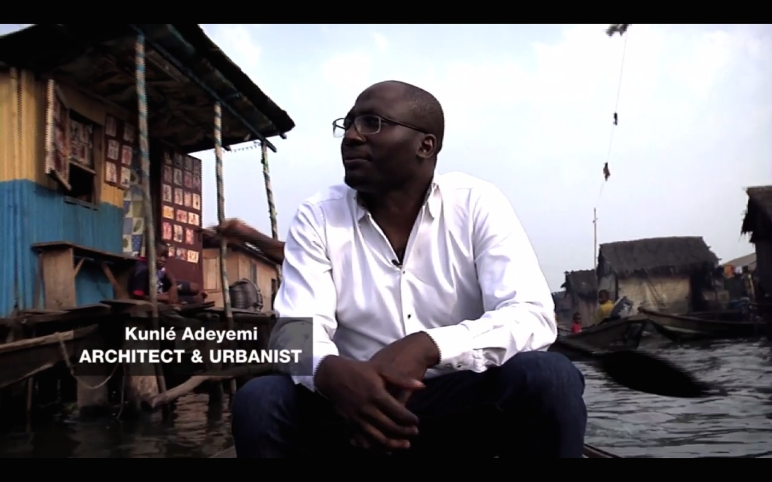 Architect Kunlé Adeyemi is determined to find solutions to flooding and overcrowding in Nigeria's waterside slums. (All video stills: Al Jazeera)